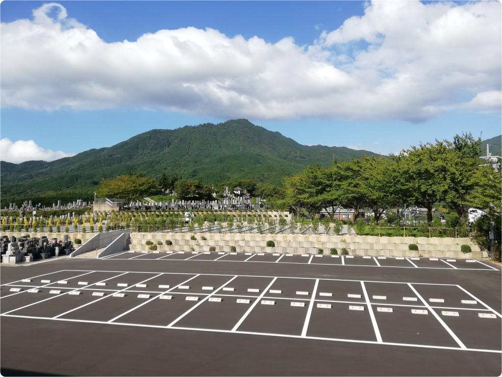 新区画駐車場